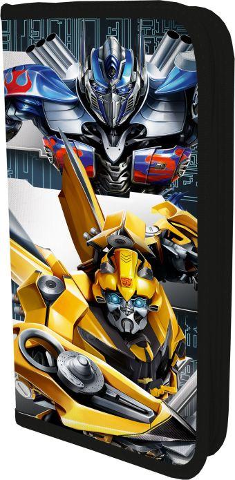TREB-UT1-033PR Пенал. Жесткий, ламинированный, на молнии. Размер: 20 х 9 х 3 см. Transformers Prime