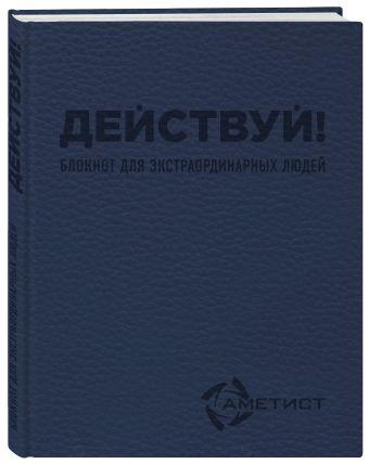 Действуй! Блокнот для экстраординарных людей (Аметист) Пинтусевич-Бабичев И.Б.
