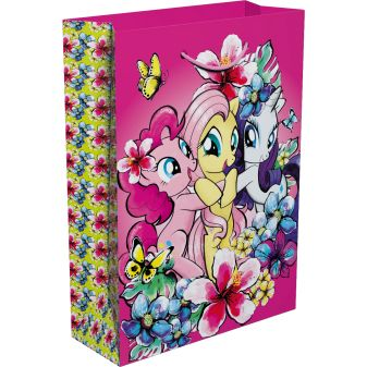 """Мой маленький пони - Пакет подарочный """"My Little Pony"""" 350*250*90 обложка книги"""