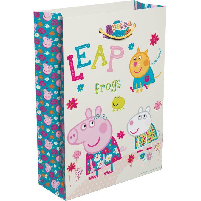 Свинка Пеппа - Пакет подарочный
