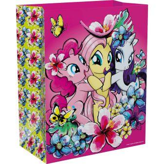 """Мой маленький пони - Пакет подарочный """"My Little Pony"""" 230*180*100 обложка книги"""