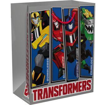 """Трансформеры - Пакет подарочный """"Transformers"""" 230*180*100 обложка книги"""