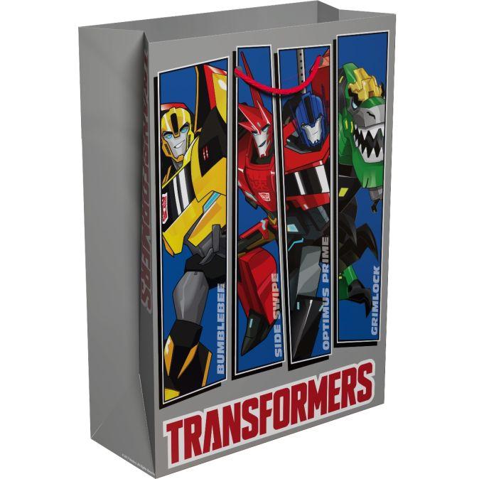 """Трансформеры - Пакет подарочный """"Transformers"""" 350*250*90 обложка книги"""
