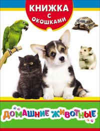 Котятова Н. И. - Домашние животные (Книжка с окошками зрб) обложка книги