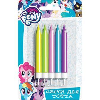 Мой маленький пони - Набор свечей с держат, 5шт*6,5см, MLP обложка книги
