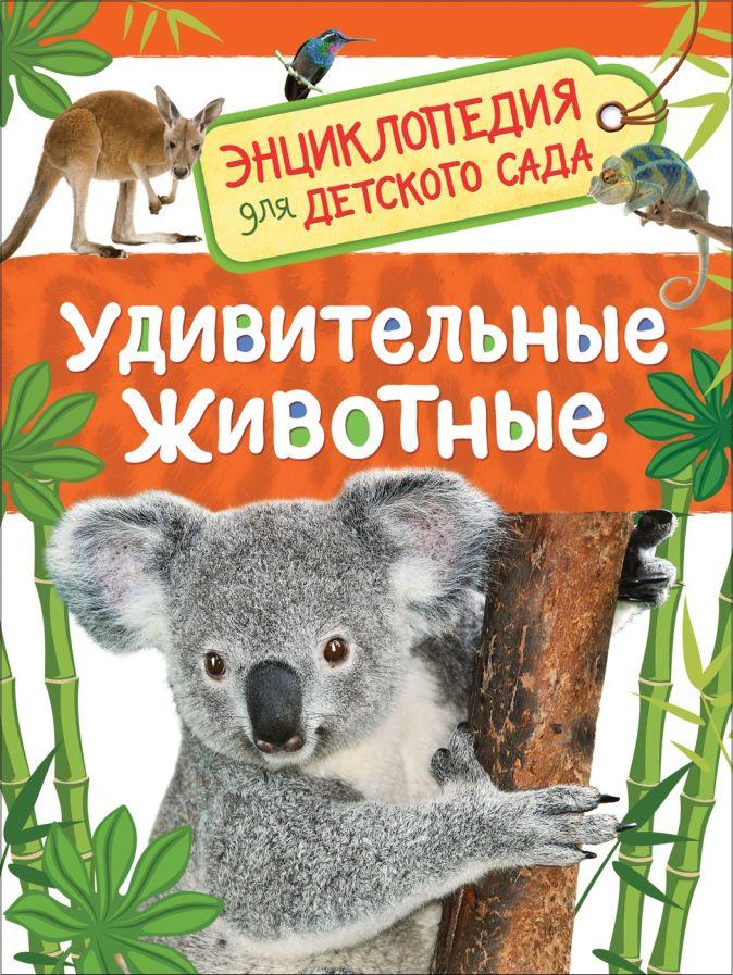 Травина И. В. - Удивительные животные (Энц-дия для детского сада) обложка книги