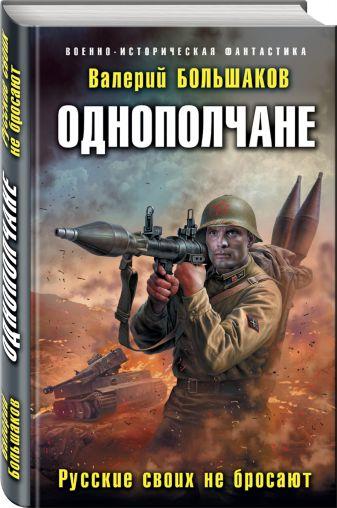 Валерий Большаков - Однополчане. Русские своих не бросают обложка книги
