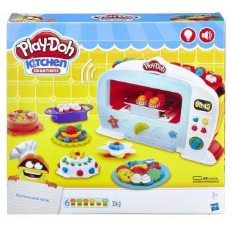 """PLAY-DOH - Play-Doh  Игровой набор """"Чудо Печь"""" (B9740) обложка книги"""
