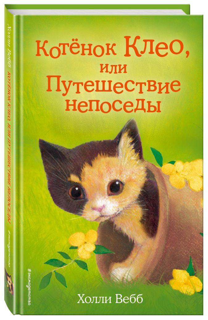 Холли Вебб - Котёнок Клео, или Путешествие непоседы (выпуск 33) обложка книги