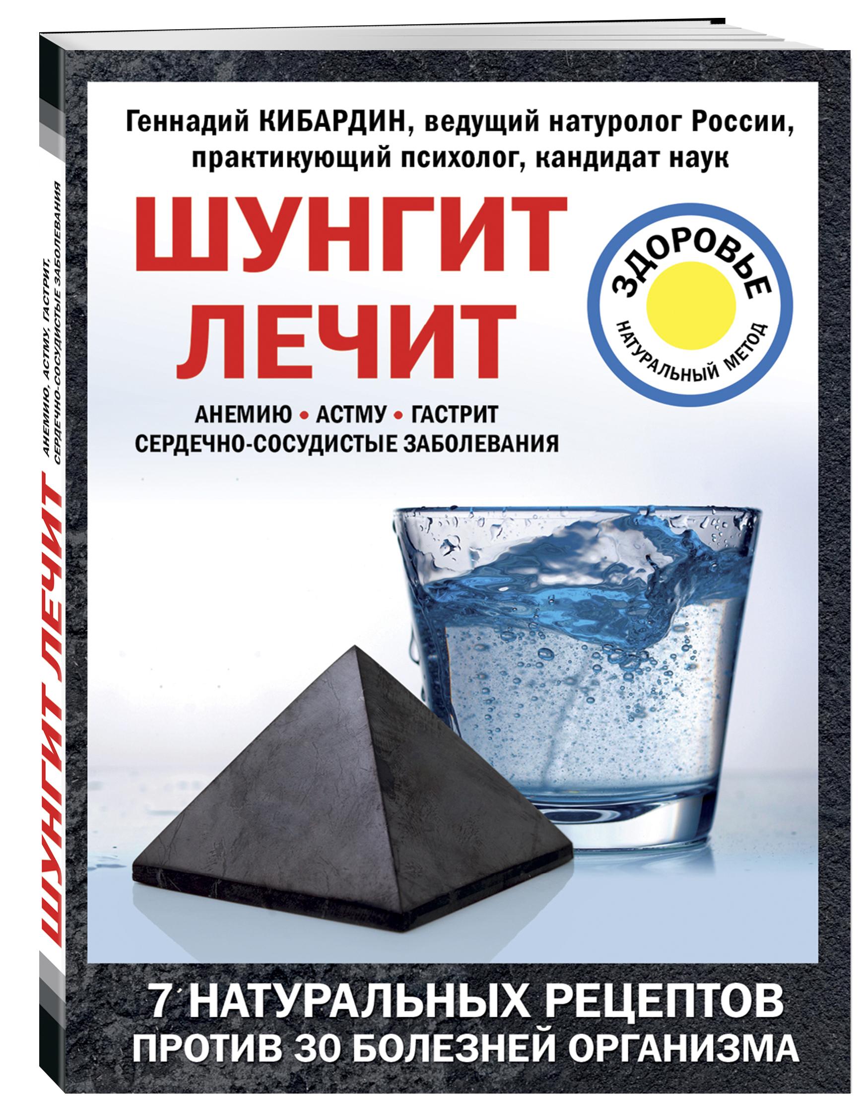Кибардин Г.М. Шунгит лечит активатор воды шунгит природный целитель авита 150 гр