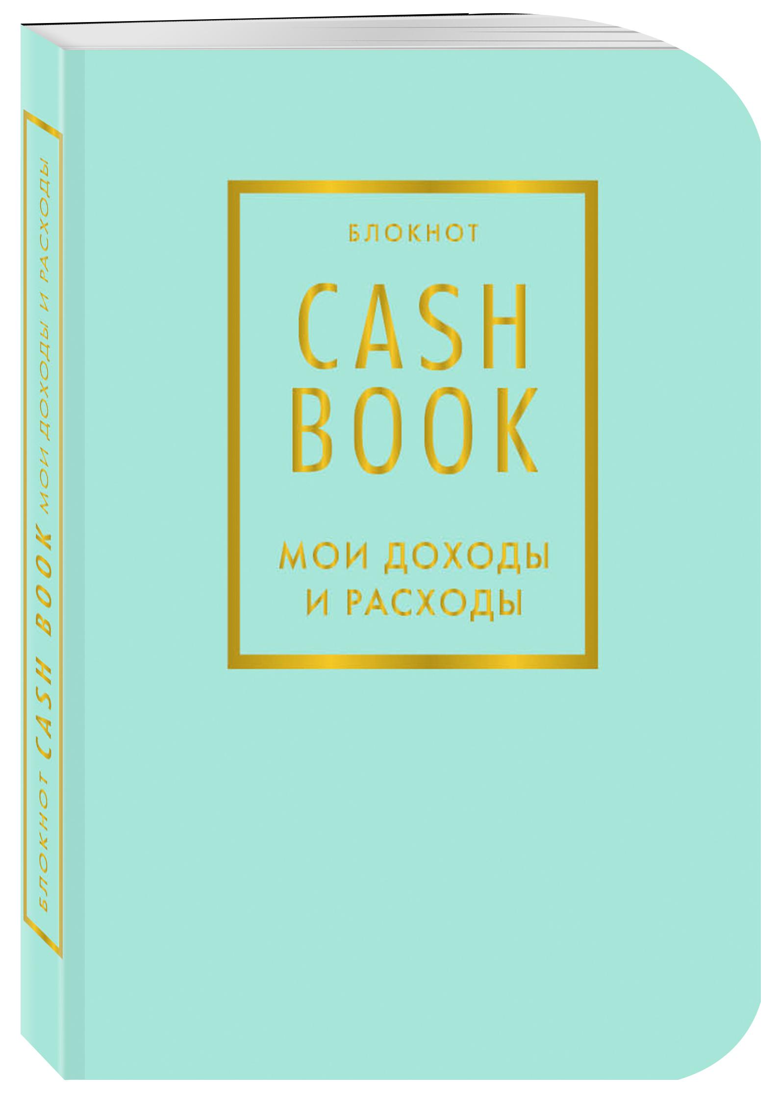 CashBook. Мои доходы и расходы. 6-е издание (мятный) большой cashbook мои доходы и расходы stars