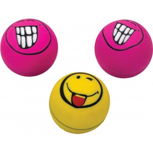 """Ластик из синт. каучука """"Smile"""", ассорти, 2,5*2,5*2,5 см 88040"""