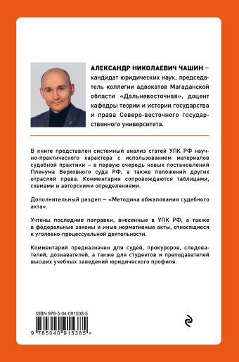 Постатейный комментарий к Уголовно-процессуальному кодексу РФ А. Н. Чашин