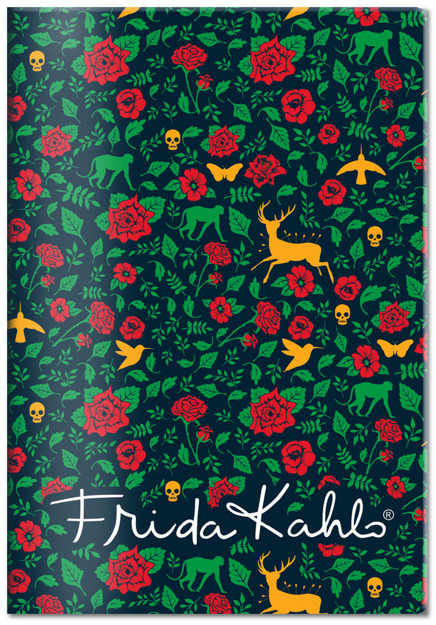 Обложка для паспорта. Фрида Кало (Арте) фигурная магнитная закладка фрида кало зелёная арте