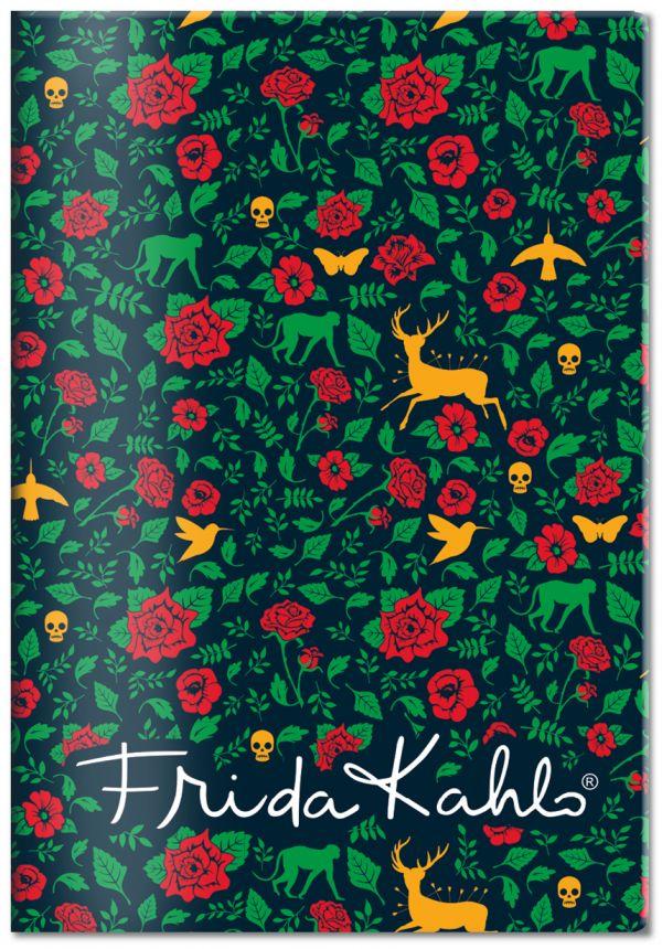 Обложка для паспорта. Фрида Кало (Арте) блокнот фрида кало зелёная обложка арте a5 192 стр