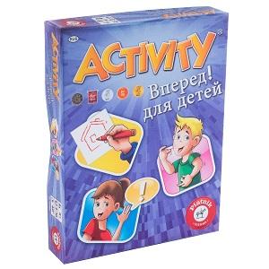 Настольная игра для детей «Activity: Вперед!»
