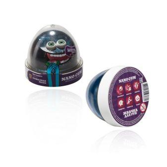 """Пластилин для лепки """"Жвачка для рук """"Nano gum"""",  эффект алмазной пыли"""", 50 гр."""