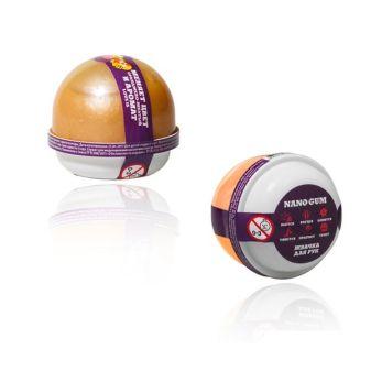 "Пластилин для лепки ""Жвачка для рук ""Nano gum"", оранжево-желтый   с ароматом LOVE IS"", 25 гр."