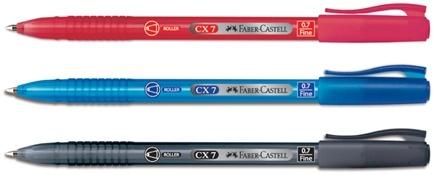 Роллер CX7, 0,7мм, синий, в картонной коробке, 10 шт.