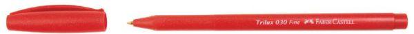 Шариковая ручка Trilux 030, в карт. коробке, 50 шт., синий