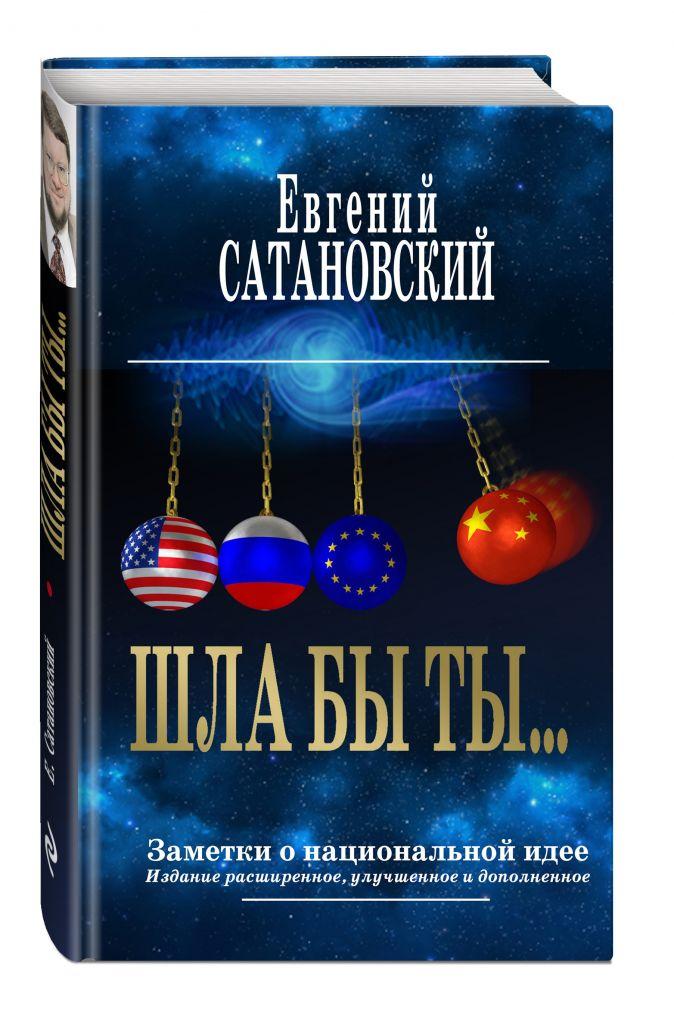 Евгений Сатановский - ШЛА БЫ ТЫ… Заметки о национальной идее. 3-е издание обложка книги