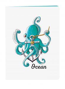Блокнот Ocean. Скетчи Лизы Красновой