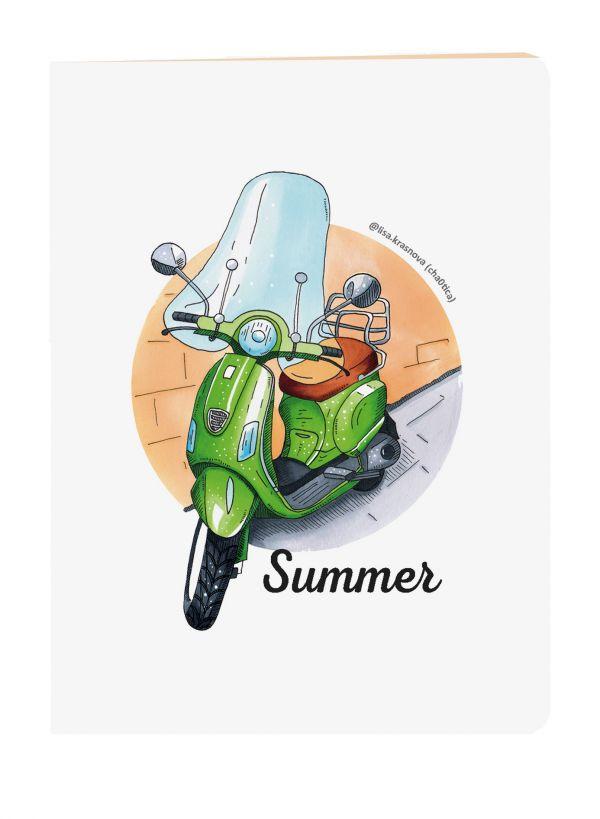 Блокнот Summer. Скетчи Лизы Красновой фото