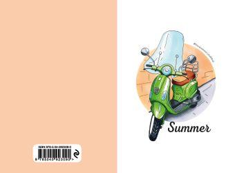 Блокнот Summer. Скетчи Лизы Красновой Лиза Краснова