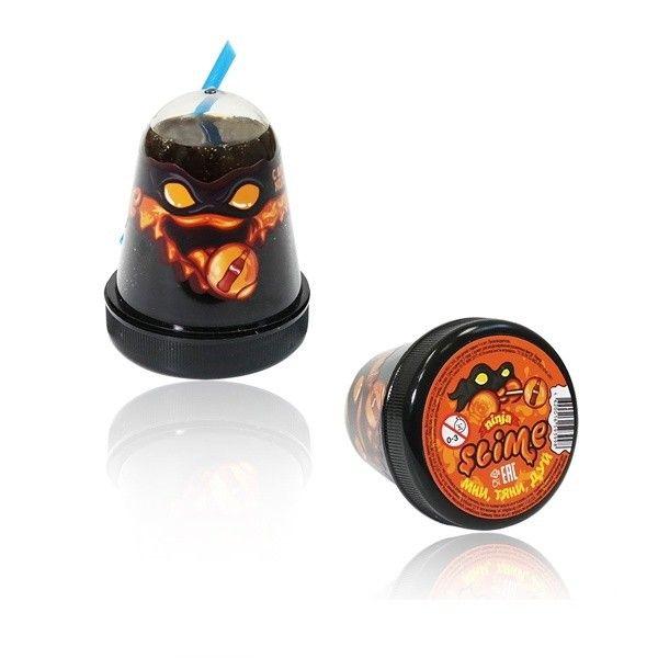 """Игрушка ТМ """"Slime """"Ninja"""" с ароматом колы, 130 г."""