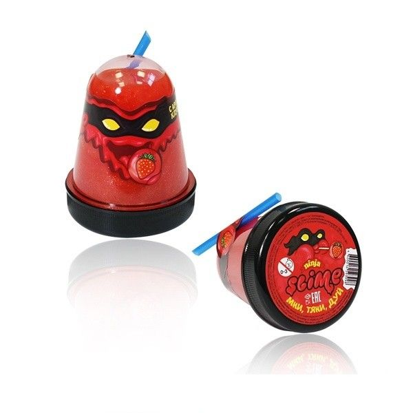 "Игрушка ТМ ""Slime ""Ninja"" с ароматом клубники, 130 г."