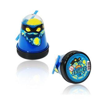 """Игрушка ТМ """"Slime """"Ninja"""", 2 в 1 смешивай цвета, синий и желтый, 130 г."""