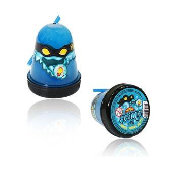 """Игрушка ТМ """"Slime """"Ninja"""" светится в темноте, синий, 130 г."""