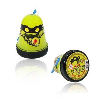 """Игрушка ТМ """"Slime """"Ninja"""" светится в темноте, желтый, 130 г."""
