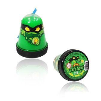 """Игрушка ТМ """"Slime """"Ninja"""" светится в темноте, зеленый, 130 г."""