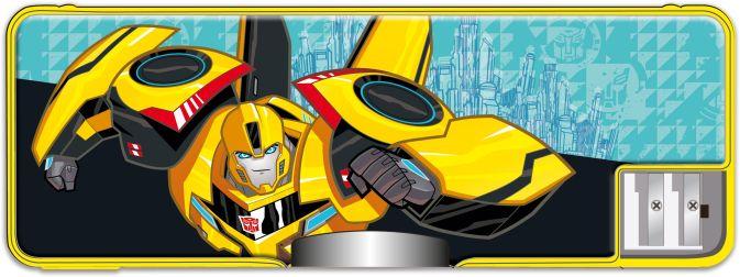 Пенал. Пластиковый.Размер: 8 х 23 х 2,5 см. Transformers Prime
