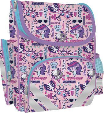 Рюкзак с эргономичной спинкой. Размер: 34 x 25 x 13 см. Littlest Pet Shop