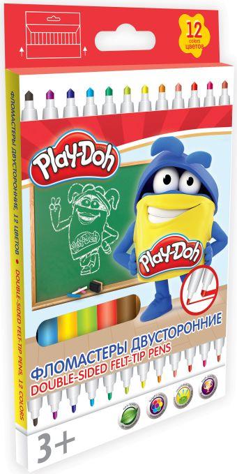 Фломастеры. Набор 10 шт. 10 цв.Размер: 18,9 х 11,8 х 1 см. Play Doh