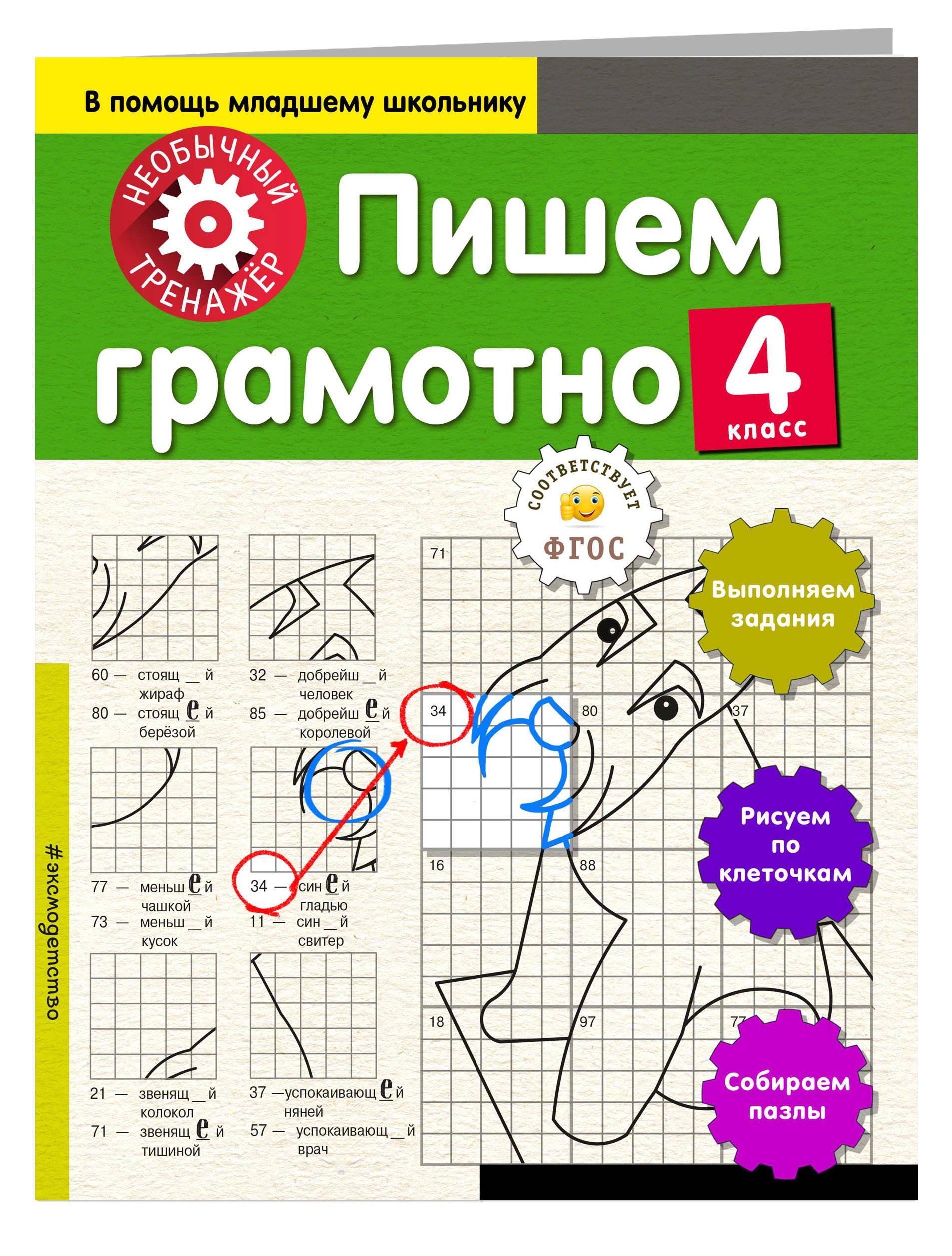 Пишем грамотно. 4-й класс ( Аксенова Анна Андреевна  )
