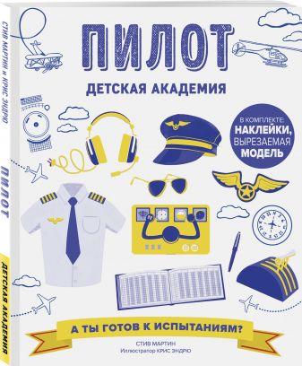 Стив Мартин - Пилот. Детская академия обложка книги