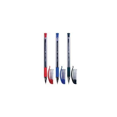 Шариковая ручка 1425, синяя/красная/черная, в полиэтиленовом пакете, 3 шт. - фото 1