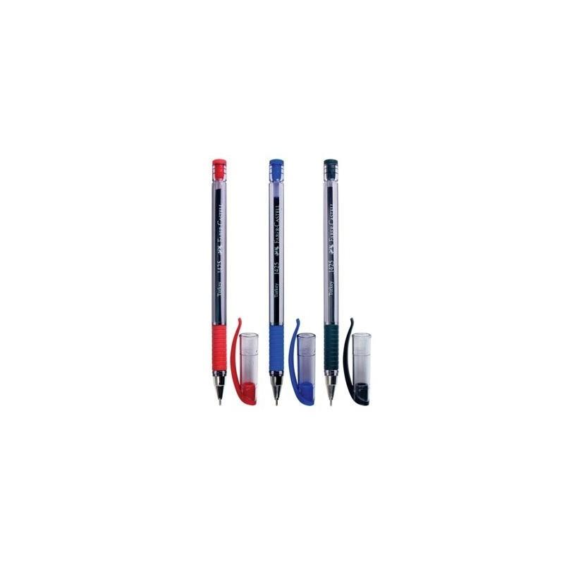 Шариковая ручка 1425, синяя/красная/черная, в полиэтиленовом пакете, 3 шт. от book24.ru