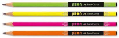 Чернографитовые карандаши NEON, в пластиковой коробке, 72 шт. - фото 1