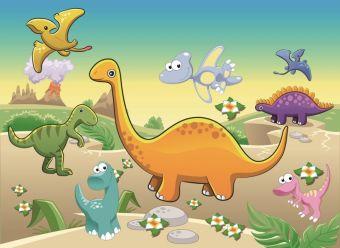 Мозаика-стикеры. Динозавры - мозаика - стикеры 3D (DF-A-6613)