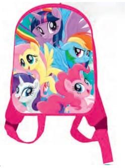 """Рюкзак """"My Little Pony"""", 1 отделение, дошкольный, детский, передняя часть выполнена из формованного вспененного полимера, уплотненная спинка,  одно от"""