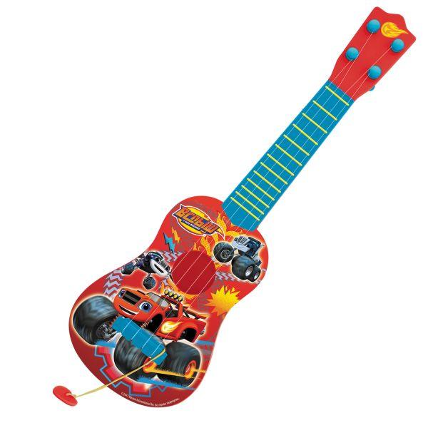 гитара  с медиатором, ТМ Blaze and the Monster Mac