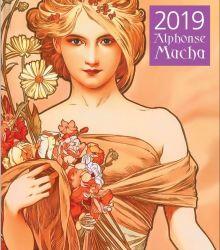Альфонс Муха. Календарь настенный на 2019 год