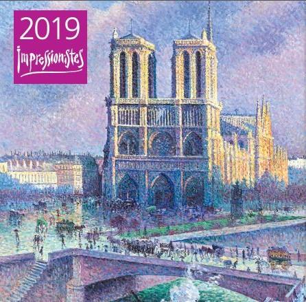 Импрессионисты. Календарь настенный на 2019 год