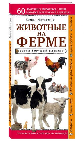 Животные на ферме. Наглядный карманный определитель Ксения Митителло