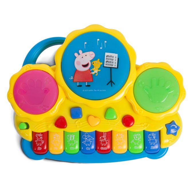 Музыкальное пианино с барабанами ТМ Peppa Pig