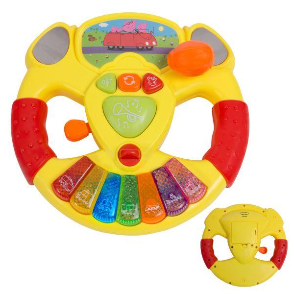 Музыкальный руль ТМ Peppa Pig
